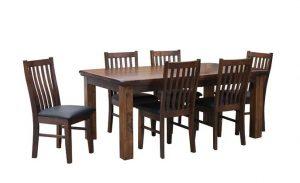 MD California 1.8 Table+ Legs - Rustic Nutmeg