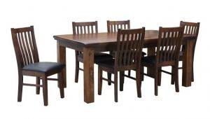 MD California 2.1 Table+ Legs - Rustic Nutmeg