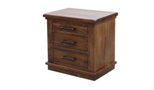 MD California Bedside Table - Rustic Nutmeg