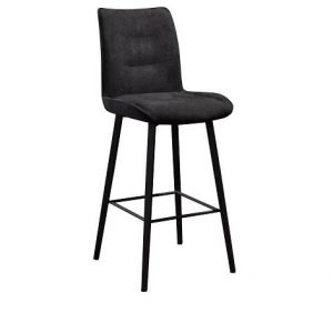 MD Capri Bar Stool (1 per box) - Midnight