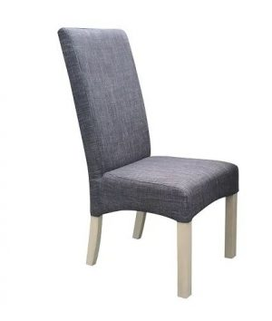 MD Chicago Fabric Chair- Charcoal