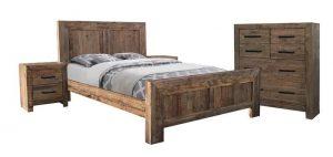MD Colorado Queen Bed - Pine