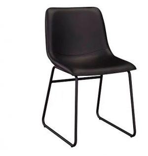 MD Denmark Chair - Black PU