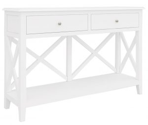 VI Hamilton Console Table 2 Drawer
