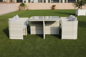 VI Stella Outdoor Dining Set 5Pc