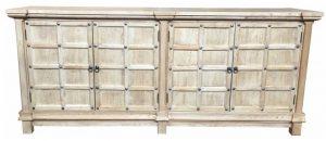MF 4-Door Recycled Elm Cabinet