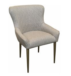 MF Chelsea Chair with Gold Leg