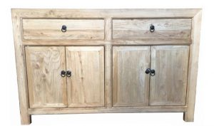 MF Chinese Antique Reproduction 2-Drawer 4-Door Sideboard