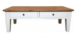 MF Lucia 2-Drawer 2-Way Table