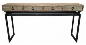 MF Torano 4-Drawer Console Table