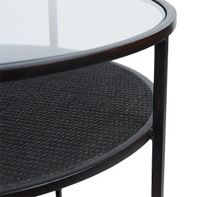 SH Flint Side Table Black