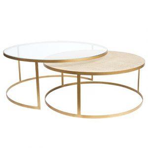 SH Manhattan Round Nesting Coffee Tables
