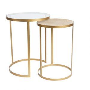 SH Manhattan Round Nesting Side Tables