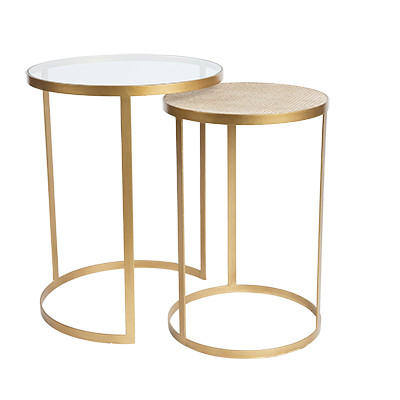 SH Manhattan Round Nesting Side Tables